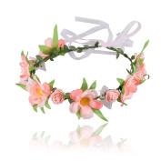 Flower Headband Wedding Hair Wreath Floral Crown Garland Nice Hair Dresses