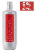 Schwarzkopf Igora Royal Oil Developer (with free Sleek Tint Brush) 33.8 oz / 1000ml