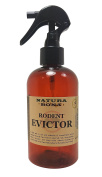 Rodent Evictor Repellent Spray. A Natural Concentrated Essential Oil Formula proven to naturally get rid of mice, rats and squirrels invading your home; 240ml Ready to Use Prediluted Spray Bottle.