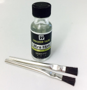 Walker Ultra Hold Adhesive 15ml Bottle with 2 Applicator Brushes