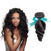 Swan Brazilian Virgin Hair Loose Wave Remy Human Hair 3 Bundles Weaves 100% Unprocessed Hair Extensions Natural Colour