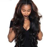 LevAo Brazilian Virgin Hair Body Wave 3 Bundles Unprocessed Remy Human Hair Extensions Natural Colour 8A