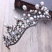 Bridalvenus Wedding Crown Princess Bridal Tiara Vintage Wreath for Women and Girls