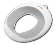 Potty Training Toilet Seat By Zohzo– Universal Design That Fits Most Toilet Types – Soft, Padded, Non Slip Surface – For Babies & Toddlers, Boys & Girls – Storage Suction Cup & Hook Included