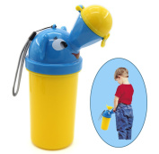 Foryee Portable Baby Toilet Potty for Camping Car Travel and Kid Potty Pee Training - Emergency Pee Guider - for Boys