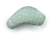LittlebeamUS Nursing Cotton Cushion Pillow with Machine Washable Cover, Hippo Love