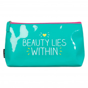 Beauty Lies Within Wash Bag by Happy Jackson