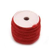ULTNICE Jute Twine Packing String Hemp Cord Spool Beading Cord Thread 50m
