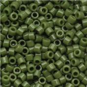 Miyuki Delica 11/0 Cylinder Seed Beads - Op Avocado - DB1135 5 grammes