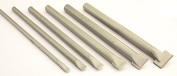 Small Set of 6 Chisels for Stone with Carbide Tips