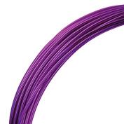 Deco Aluminium Craft Wire - Purple - 12m - 2mm diameter