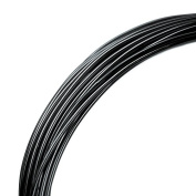 Deco Aluminium Craft Wire - Black - 12m - 2mm diameter