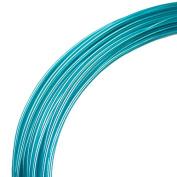 Deco Aluminium Craft Wire - Peacock - 12m - 2mm diameter