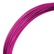 Deco Aluminium Craft Wire - Fuchsia - 12m - 1mm diameter