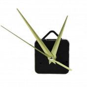 OHTOP Quartz Wall Clock Movement Mechanism 3 Gold Hands DIY Repair Parts Kit
