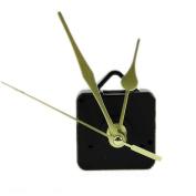 OHTOP DIY Quartz Clock Movement Mechanism Long Spindle Gold Hand Kit