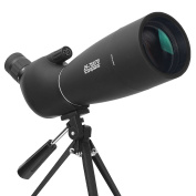 Aomekie AO4019 25-75X70 Zoom Spotting Scope with Tripod Long Range Target Shooting Bird Watching Monocular Telescope HD Optical Glass FMC Lens