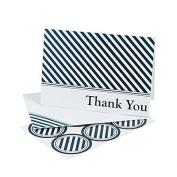 Nautical Wedding Thank You Cards 2 Dozens