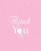 Baby Love Pink Thank You Cards