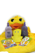 Hooded Duck Towel Bathing Gift Set Bundle
