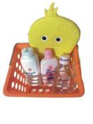 Yellow Ducky Baby Bath Gift Set