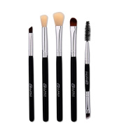 Hometom 5PCS Make Up Foundation Eyebrow Eyeliner Blush Cosmetic Concealer Brushes