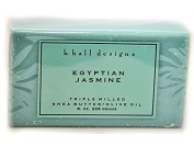 k. hall Egyptian Jasmine Bar Soap