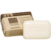 Naturally Scented Palm Oil Soap Bar 'Sandalwood Soap'
