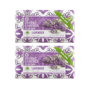 Desert Essence Lavender Soap Bar With Tea Tree Oil and Lavender Oil, Gluten-Free/ Vegan, 150ml
