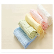 Lucear muslin baby bath washcloth (5-pack) with Hook, 30cm x 30cm reusable wipes, Baby Towels Best for Shower Gift