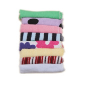 Detroital Baby Washcloths Extra Soft Small Towel For Baby Face Muslin Cotton