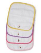 RALPH LAUREN Baby Girl's Set-of-Four Terry Washcloths