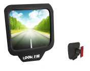 Rear View Mirrors Blind Spot Mirrors for Backseats Adjustable 270 Wide Angle for Driver Passenger Safety