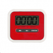 Artistic9(TM) Attractive Design LCD Large Clear Digits Kitchen Cooking Timer Count-Down Up Clock Loud Alarm