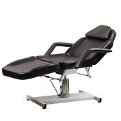 ColdBeauty Black Beauty Salon Equipment Facial Massage Table Bed Chair