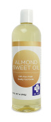 Save $$ MD.LIFE Sweet Almond Oil - 470ml . Sweet Almond Oil Triple AAA+ Grade Quality Hexane Free For Hair, Skin & Face - 100% Pure from Spain - Cold Pressed - 470ml by Pure Body Naturals