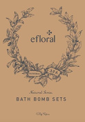 Efloral 9 Bath Bombs Gift Set- Ultra Premium Handmade Mixed Colour Huge Luxury Relax Spa Bomb Fizzies -Organic and Natural Ingredients