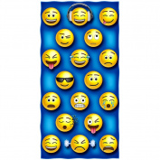 Emoji Cotton Beach Towel