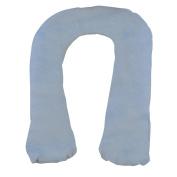 Moonlight Slumber Kids Comfort-U - Body Pillow for Kids + Light Blue Plush Pillow Cover