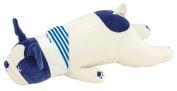 LivHeart Premium Nemu Nemu Animals Cool Body Pilow Size M Buburu The French Bulldog 48452-98 from Japan