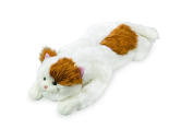 Super Soft White and Brown Cat Body Pillow Bedtime Cuddly Plush Toy Animal Pet 0.9mL