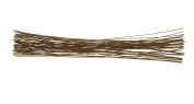36cm 18 Gauge Brown Paper Covered Crafts Floral Stem Wire, 100 Counts by Shxstore
