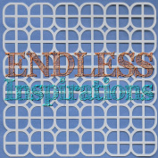 Endless Inspirations Original Stencil, 15cm x 15cm , Lattice 3