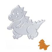 JUA PORROR Dinosaur Cutting Dies Stencils Scrapbook Album Paper Card Embossing Craft DIY