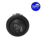Dolphin Illuminated LED Round 3 Pin P Rocker ON / OFF 12v DC Dashboard Switch Parking Reverse Sensor Front Rear Reversing Sensors UK