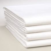 Linteum Textile Percale KING FITTED SHEETS 200 Thread Count 78x 80in x 30cm . 1-Pack White