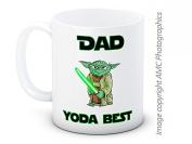Dad Yoda Best - Star Wars - Funny High Quality Coffee Tea Mug - Great Gift for Dad!