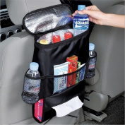 Universal Car Back Seat Organiser, RUISIKIOU Car Auto Seat Back Heat Preservation and Cooling Pocket Collector Organiser