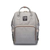 Cocoo Mummy Backpack Multifunction Waterproof Baby Nappy Nappy Handbag Large Capacity Travel tote Bag Grey