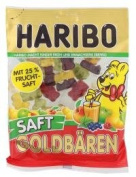 Haribo Gold Bears juice 175 g